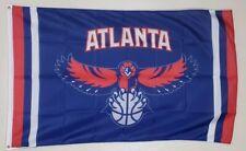 Atlanta Hawks Banner 3x5 Ft Flag Man Cave Garage Shop Wall Decor NBA Basketball