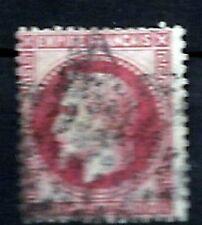 YT n°32 de 1867 NAPOLEON III lauré 80 cts oblitéré