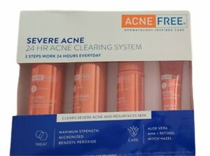 Acne Free Severe Acne 24hr Clearing System 4pc Kit