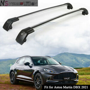 2Pcs Lockable Roof Rail Rack Cross Bars Crossbars Fits for Aston Martin DBX 2021