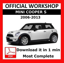 >> OFFICIAL WORKSHOP Manual Service Repair Mini Cooper S 2006 - 2013
