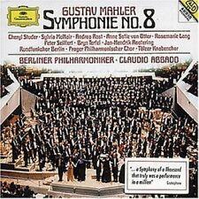 STUDER/OTTER/ABBADO/BP - SINFONIE 8 2 CD NEU