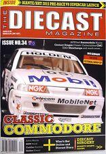 The Diecast Magazine #34 Biante Classic Bathurst BMW Buick Cadillac Brock Nissan