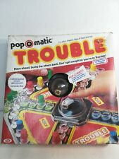 Vintage TROUBLE POP-O-MATIC Board Game COMPLETE