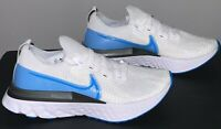 Nike React Infinity Run Flyknit Men Size 6.5 Blue Running Gym CD4371-101 New