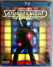 NEW SATURDAY NIGHT FEVER DIRECTOR'S CUT BLU-RAY Audio- ENG+FRENCH+SPANISH+PORTUG