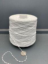 500G 4NM ACRYLIC CHENILLE YARN WHITE COLOUR