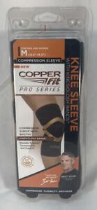 "Copper Fit Pro Series Compression Knee Sleeve Medium 15.5""-16.5"""