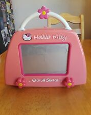 Etch A Sketch Screen Purse Hello Kitty Ohio Art Sababa Toys 2003 Rare Works!