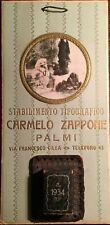 CALABRIA_PALMI_TIPOGRAFIA ZAPPONE_ANTICO CALENDARIO PUBBLICITARIO_1934_PAESAGGIO