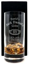 More details for personalised jack daniels highball glass gift dad/grandad/daddy/christmas/men