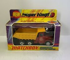Matchbox Lesney Super Kings Series Scammell Tipper Truck K-19