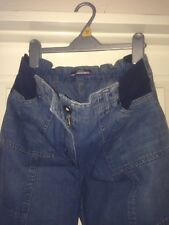🍼bnwt Maternity Jeans Size 12-elastic Back And Extra Stretch Sides🍼