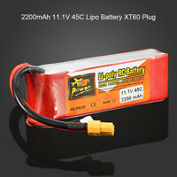 11.1V 2200mAh 45C 3S Lipo Battery For RC Vehicles Quadcopter Airplane Toys