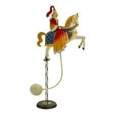 """Medieval Princess Sky Hook Royal Figure Teeter Totter 20"""" Tin Balance Toy"""