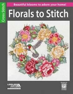 Florals to Stitch - Paperback By Kooler Design Studio - GOOD