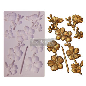 Prima Marketing Re-Design Mould – Botanical Blossoms New