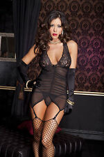 Thong Polyester Glamour Mixed Lingerie Sets for Women