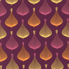 "1 yard 32 inches ROBERT KAUFMAN ""TO MARKET TO MARKET"" ONION Bordeaux"