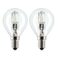 General Electric 98372 Halogen Glühbirne 30W E14 warmweiss 2er-Set