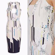 Next Tall Blush Floral Bodycon Dress - Size 18 (RRP £50!)