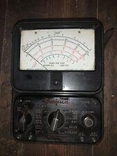 Vintage Simpson 260 Analog Multimeter Volt Ohm Milliammeter Untested