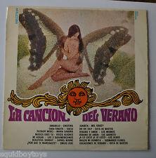 LA CANCION DEL VERANO Spain LP Record Sexy Cheesecake Cover