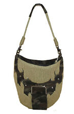NEW Beige Green Camo Army HANDBAG TOTE bag PURSE Rope DESIGN Free tank top