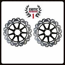 Front Brake Disc Rotors Set YAMAHA XJR 1200 1995-1997 XJR 1300 1998
