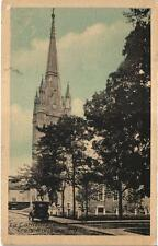 TROIS RIVIERES CATHEDRAL QUEBEC CANADA VINTAGE POSTCARD