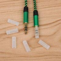 20 Pieces Earphone Cable Dust Plug 3.5mm AUX Audio Jack Case 3.5 Headphone Port