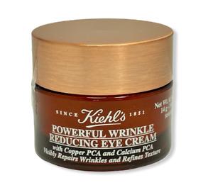 Kiehl's Powerful Wrinkle Reducing Eye Cream 0.5oz./14ml New