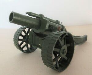 """Britains Ltd Army 18"""" Heavy Howitzer Field Gun on Tractor Wheels Diecast Model"""