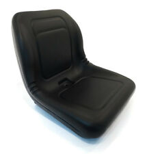 (1) Black HIGH BACK SEAT for John Deere Z-Track ZTR F620 F680 Lawn Mower Tractor