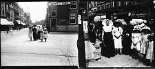 LA HAYE c. 1900 - 16 Stéréos stéréo Verre Hollande Pays Bas - 210