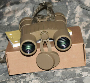 L3 NEW ORIGINAL US MILITARY M24 7X28 BINOCULARS DESERT TAN