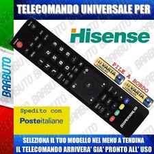 TELECOMANDO UNIVERSALE HISENSE CLICCA IL TUO MODELLO LO RICEVERAI GIA PRONTO
