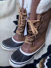 Women's 8 Portland Boot Company  Duck Duck Tall Snow Boot Tan Winter Boots  NEW