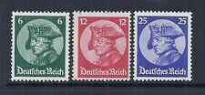 1933 Germany SC 398-400 | MI 479-481 Frederick the Great- MNH VF*