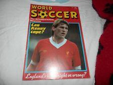 World Soccer Magazine July 1985 Liverpool Juventus Heysel Stadium