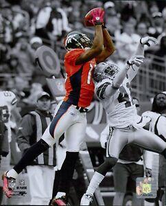 Brandon Marshall Denver Broncos NFL Licensed Unsigned Glossy 8x10 Photo A