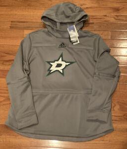adidas Dallas Stars Women's Pullover Hoodie GH5532 2XL NWT $80