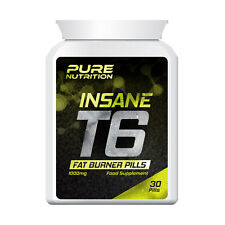 PURE NUTRITION T6 INSANE FAT BURNER PILLS – MUSCULAR BODY FAST GET RIPPED