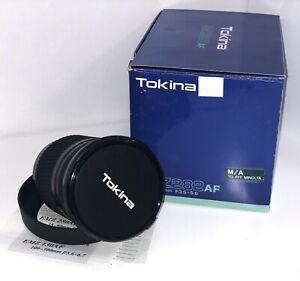 Tokina EMZ282AF 28-210mm f/3.5-5.6 Lens for Sony/Minolta Analog Film Cameras