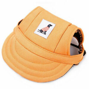 Pet Hat Puppy Dog Cat Hat Sport Travel Baseball Visor Hat Outdoor Sun Bonnet Cap