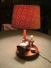 Vintage Childrens Kids Bedroom Lamp Musical. 1981