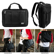 Black 3in1 Laptop Bag School Backpack For Dell Latitude 12/ Inspiron 11/ XPS 12