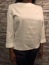 Armani Jeans Bianco-White Women Blouse Size UK 16 / IT 48