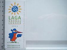 Aufkleber Sticker LAGA - Landesgartenschau - Gronau-Losser (6186)