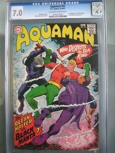 Aquaman #35 CGC 7.0 DC Comics 1967 1st app Black Manta